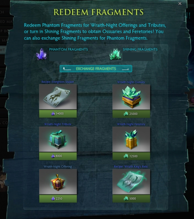 fragments ingame